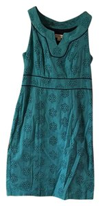 Merona short dress Teal on Tradesy