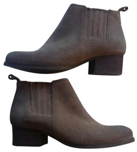 Jeffrey Campbell Suede Chunky Taupe Boots