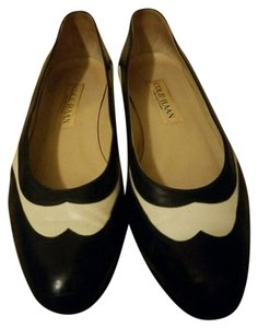 Cole Haan Navy blue and beige Flats