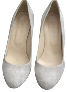 J.Crew taupe Wedges