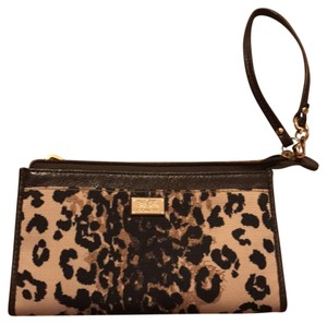 Coach coach Madison ocelot zippy wallet