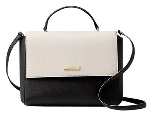 Kate Spade Satchel in Black/Pebble