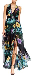 multi Maxi Dress by TOV Holy Maxi Floral Backless