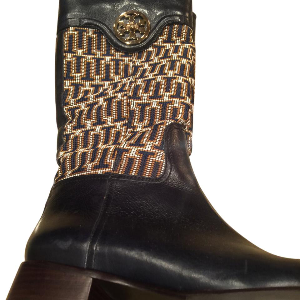 WOMENS Tory Burch Navy To fashion Boots/Booties Modern and elegant fashion To f9a346