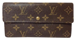 Louis Vuitton Monogramed Long Sarah wallet