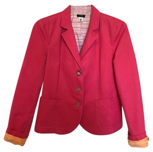 J.Crew Cotton Structured Casual Tulip Pink Jacket
