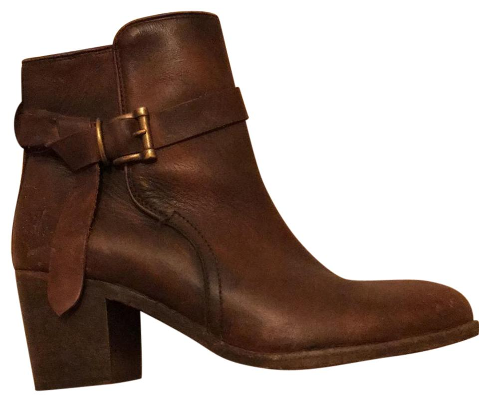 Frye Brown (Redwood) Malorie Malorie (Redwood) Knotted Boots/Booties a59921