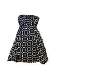 The Limited Polka Dot Cocktail Graduation Casual Dress