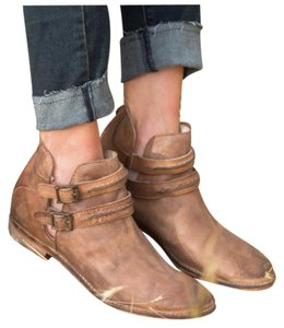 Free People Distressed Tan Boots