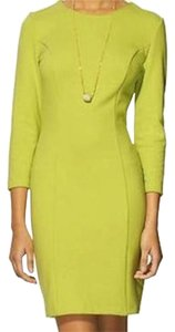 Tinley Road short dress Neon Lime Green Sheath Bodycon Fitted on Tradesy