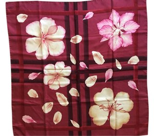 Burberry London Burberry London Flower Motif Silk Printed Scarf