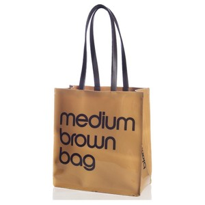 Bloomingdale's Tote in brown, beige