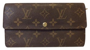 Louis Vuitton Monogramed Long wallet