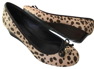 Tory Burch leopard print Wedges