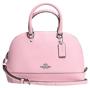 Coach Mini Sierra Pink Satchel in blush pink