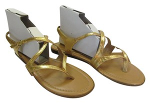 Other Size 9.50 M Very Good Ocndition Gold, Sandals