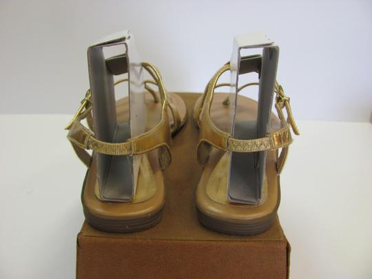 Other Size 9.50 M Very Ocndition Gold, Sandals