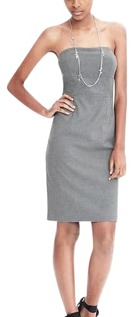 Preload https://img-static.tradesy.com/item/21235040/banana-republic-grey-exposed-dart-strapless-mid-length-workoffice-dress-size-0-xs-0-1-650-650.jpg