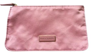 Prada Gold Silk Pink Clutch