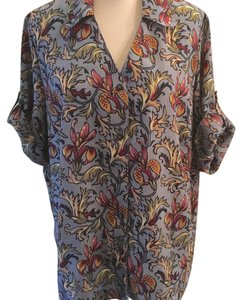 DonnKenny Button Down Shirt multi Color