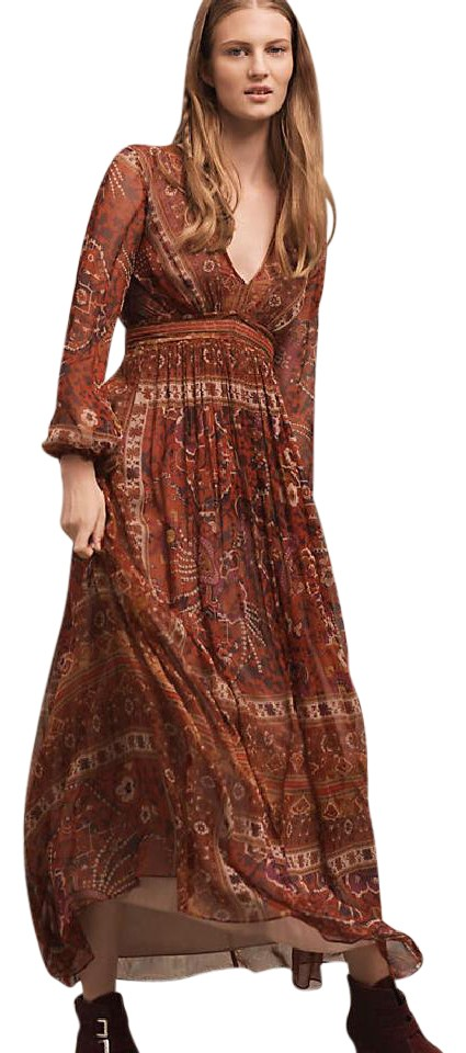 4eb389ee6dee Anthropologie Ceret By Ranna Gill 0 Long Casual Maxi Dress Size 0  Rh:tradesy.com | 960