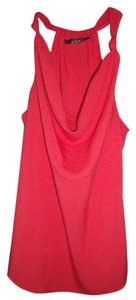 a.n.a. a new approach Paprika Boho Racerback Waterfall Spring Sexy Top Red-Orange