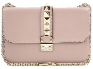 Valentino Studded Rockstud Lock Classic Iconic Shoulder Bag