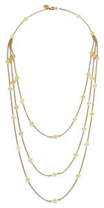 Tory Burch Tory Burch Multi Strand Necklace Gold