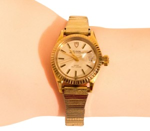 Tudor TUDOR /ROLEX PRINCESS OYSTER DATE LADIES WATCH Model 7637/13 GOLD
