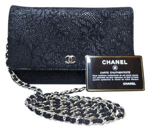 Chanel Wallet On Chain Sliver-tone Hardware Shoulder Bag