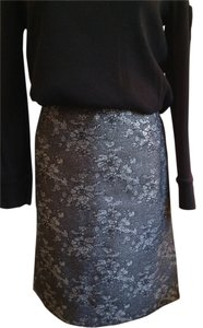 Doncaster Skirt Black with silver