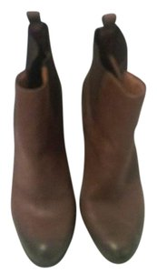 Lucky Brand Leather Pointed Toe Brown Boots