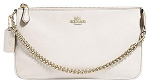 Coach New With Tags Wristlet in Chalk