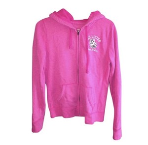 Hollister Hoodie Small Soft Pink Jacket