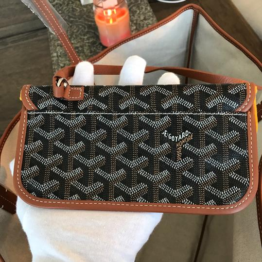 Goyard Supreme Neverfull St Louis Wallet Tote in Classic Chevron