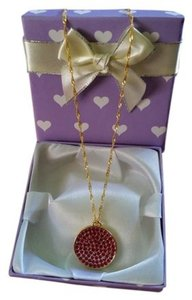 Coach Coach Brand new handmade 18KGP necklace..Authentic charm..Gift box inc