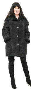 Saga Furs Fur Persian Lamb Broadtail Shearling Shearling Fur Coat