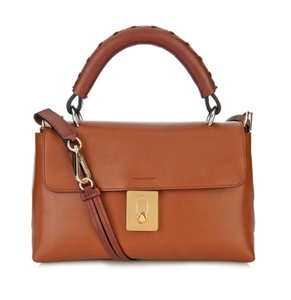 Chloé Chloe Fedora Caramel Tan Small Fedora Cross Body Bag