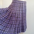 Chanel Purple Beige Black Interlocking Cc Logo Printed Silk A-line Skirt Size 12 (L, 32, 33) Chanel Purple Beige Black Interlocking Cc Logo Printed Silk A-line Skirt Size 12 (L, 32, 33) Image 5