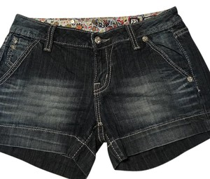 Miss Me Cuffed Shorts denim