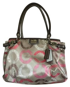 Coach Limited Edition Metallic Bronze Exclusive Satchel in Multicolored