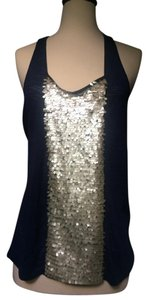 Addison Sequin Top navy