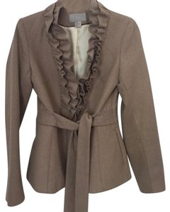 H&M Ruffle Belted Trench Coat
