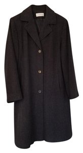 Calvin Klein Collection Tailored Classic Professional Pea Coat