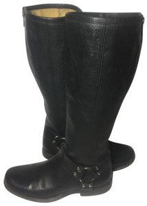 Frye 76850 Phillip Motorcycle Size 7.5 Women Size 7.5 Black Boots