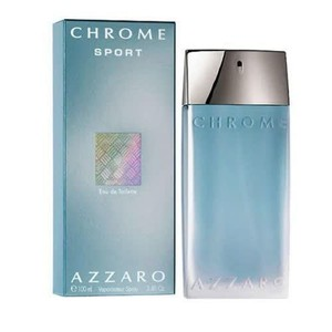 Azzaro Azzaro Chrome Sport for Men Eau de Toilette 3.4 oz / 100 ml New.