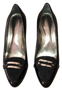 Ann Taylor Patent leather Black Platforms