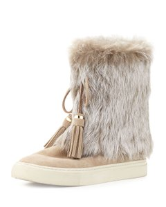 df6bff736b58 Tory Burch Fur Boots - Up to 70% off at Tradesy