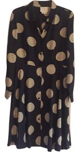 Kate Spade short dress navy blue with beige on Tradesy