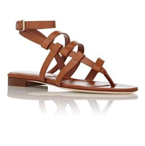 Sergio Rossi Leather Luggage Sandals